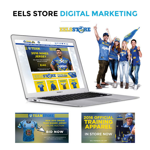 Eels Store Digital Marketing